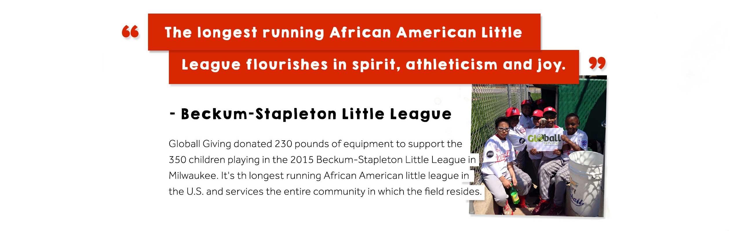 Beckum-Stapleton Little League