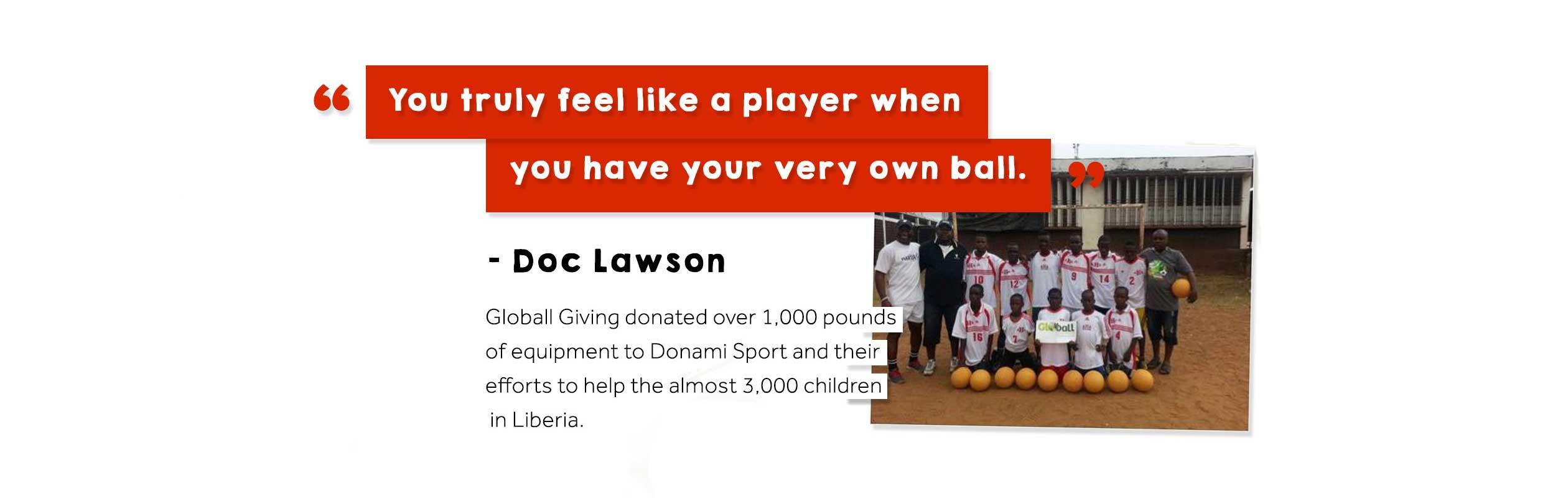 Doc Lawson - Liberia